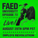 FAED University Episode 72 - 08.28.19 image