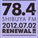 "Nov 16th 2012 ""Radio Catalysts"" feat. Masaya Fantasista Afro mix on 78.4mhz image"