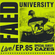 FAED University Episode 85 featuring Cazes - 11.27.19 image