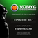 Paul van Dyk's VONYC Sessions 387 - First State image