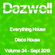 Everything House - Volume 34 - Disco House - September 2019 by Dazwell image