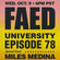 FAED University Episode 78 featuring Miles Medina - 10.09.19 image