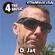 """DJat """"The Jat that House Built #40"""" - 4 The Music Live - 14-06-21 image"""