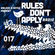 Rules Don't Apply Radio 017 image