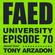 FAED University Episode 70 featuring Tony Arzadon - 08.14.19 image