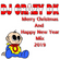 DJ CRAZY DK - Merry Christmas And Happy New Year Mix (2019) image