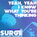 Yeah, Yeah I Know What You're Thinking Podcast Wednesday 22nd March 7pm image