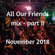 All Our Friends, 17 November 2018, part II image