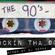 Rockin Tha 90s - Mixed By Dj Bennett image