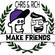 Make Friends Radio - Episode 3 Feat. Billy Lane (March 2018) image