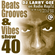 Beats, Grooves & Vibes #40 by Larry Gee image