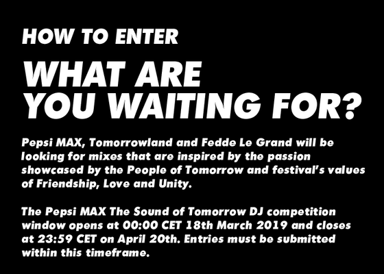 Pepsi MAX The Sound of Tomorrow 2019 - Competition | Mixcloud