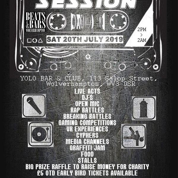 Beats & Bars presents The Session - Hip-Hop/Rap mix - July
