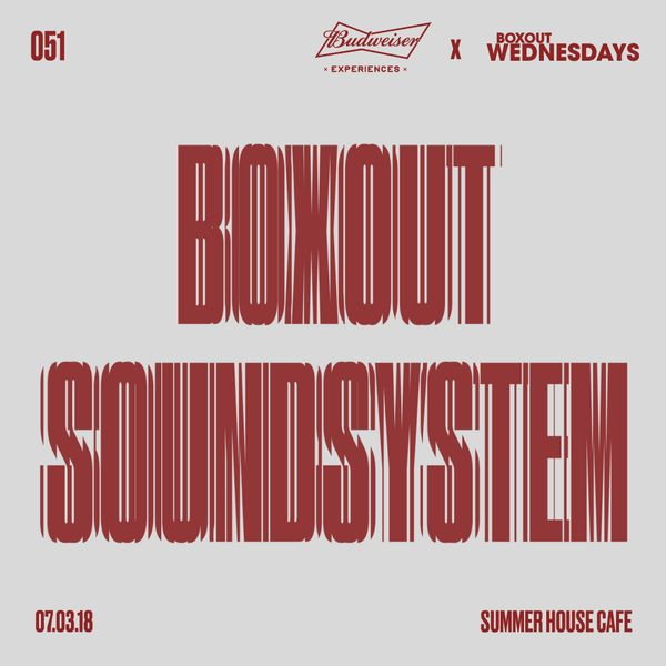 Budweiser x BW051.4 - Boxout Soundsystem