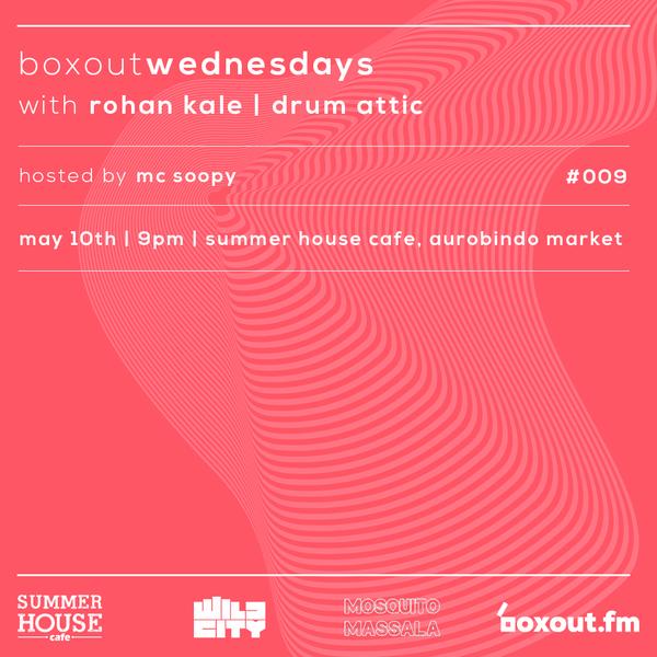 BW009.3 - Drum Attic b2b Rohan Kalé