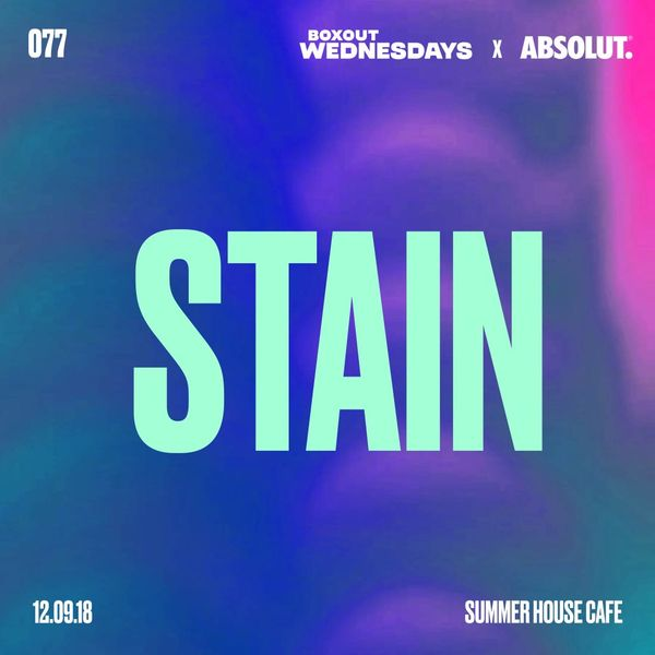 BW077.1 x Absolut - Stain