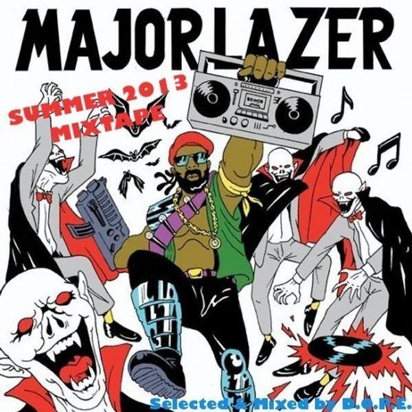 major lazer get free 2k13
