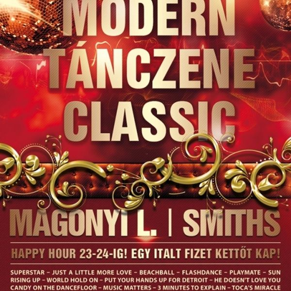 cfaf8f9fd Smiths & Magonyi L - Live @ Dokk Club Budapest Modern Tánczene ...