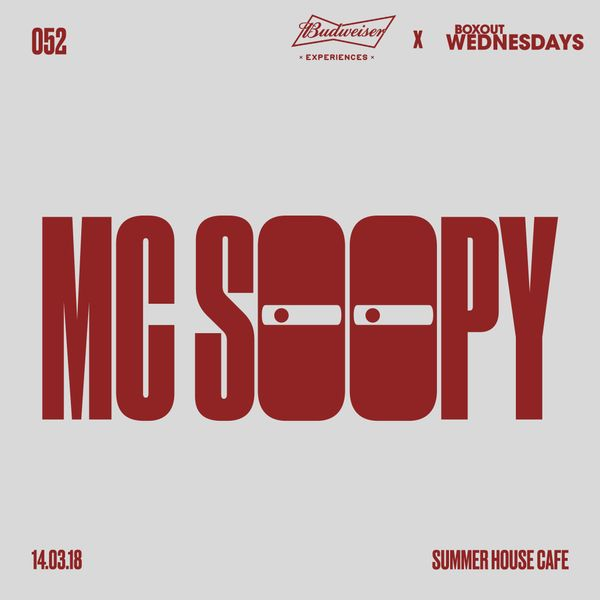 Budweiser x BW052.1 - MC Soopy