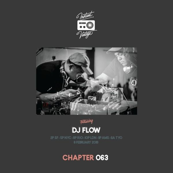 INSTANT VINTAGE RADIO 063 | DJ FLOW MIX | A Special Additions + Broadcast.
