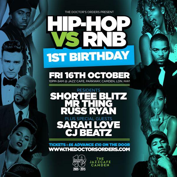 hip hop versus r b