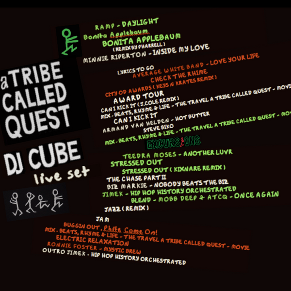 Dj Cube - A Tribe Called Quest - Dj Set Live by Dj Cube
