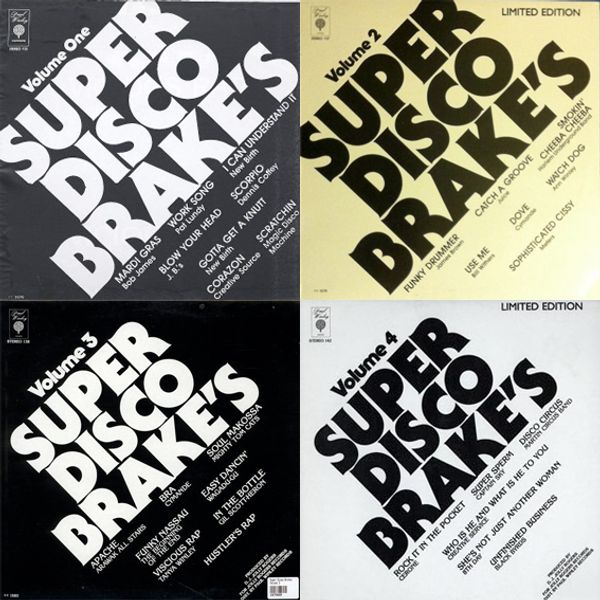 Best of Super Disco Brakes Vol 1-4 Soul Cool Records by Soul