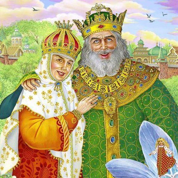 Картинки про царя гороха