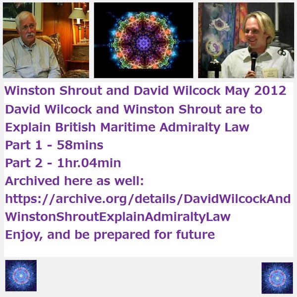 David Wilcock interviews Winston Shrout May 2012 British
