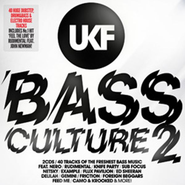 ukf bass culture 2 dubstep/electro house cd1 megamix