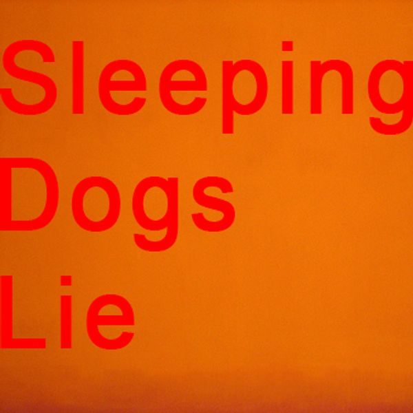 Sleeping Dogs Lie 191 (21_22jul11): SoundCloud Ambient Music Group 3 by  Miguel Santos   Mixcloud