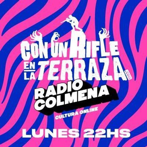 ConUnRifleEnLaTerraza
