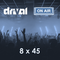 Drival On Air 8x45
