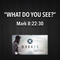 """MARKED Series- """"What Do You See?"""" Mark 8:22-30"""