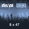 Drival On Air 8x47