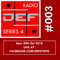DEFSYNTH radio Series 4 Episode 3 - 29th October 2018