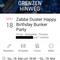 Tobi Dust @Zabbe Duster Happy Birthday Bunker Party ll