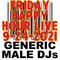 (Mostly) 80s & New Wave Happy Hour - Generic Male DJs - 9-24-2021