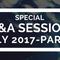 Special Q&A- Part 3