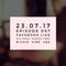 Episode 007 - Facebook Live (23.07.17)