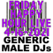 (Mostly) 80s & New Wave Happy Hour  - Generic Male DJs - 4-16-2021