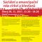 Sociální a emancipační role církví a křesťanů - Charitativní aktivita církve a její politický rozměr