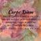 Carpe Diem ~Shamanatrix Live at Dance Temple Comox Valley