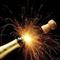 DJ Lowy Popping champagne corks 2013