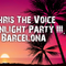 Chris The Voice-Moonlight party III.-Barcelona