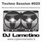 CyberOneRadio Techno Session - DJ Lametino - episode # 025