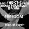 LIFESTYLE OF FREEDOM - Launch (Sunday February 25)