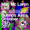 May Mc Laren Live at Minelek XXX | October 31th, 2017