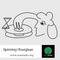 Spinning Hourglass 022: Equinox