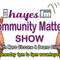 Community Matters Show - Wednesday 19th August 2020 - 1pm to 3pm